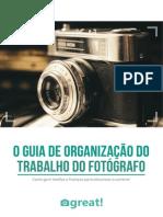 o Guia de Organizacao Do Trabalho Do Fotografo