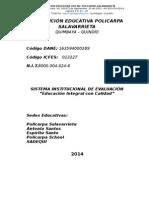 Sistema Institucional Evaluac-polic.2014