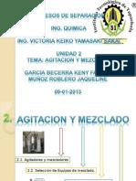 2.Agitacion y Mezclado