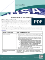 BusinessVisa Purpose Listings March 2014 Flier