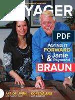 Paying it forward (Voyager Magazine) World Ventures