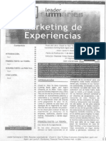 Marketing de Experiencias Smaller