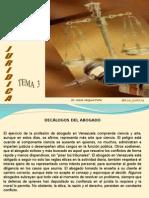 Tema 3 Los Decalogos