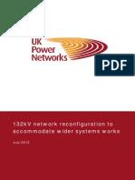 132kV Network Reconfiguration