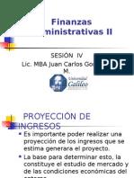Finanzas Administrativas II, Semana IV