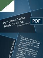 Programa de Plan de Pastoral Parroquial