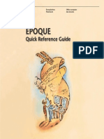 Epoque Quick Ref Guide 3rd Edition