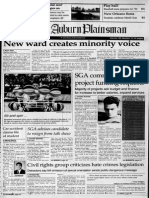 The Auburn Plainsman Feb. 17, 1994, Page 1