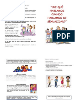Taller Padres Sexualidad