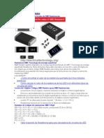 Códigos SMD Resistor