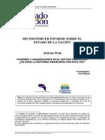XIII Estado de La Nación. Fusiones-Adquisiciones