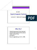 Digital Computer Systems lecture 4