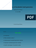 A General Survey of Hexahedral Mesh Generation