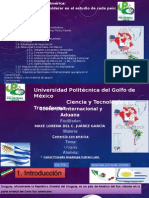 relación comercial de mexico- uruguay