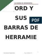 Word y Sus Barras de Herramientas.