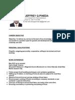 dj resume