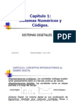 Sistemas Digitales Numéricos y Códigos