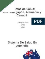 Salud Publica en Australia, japón, alemania