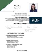 NOEMI B Resume