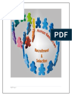 Recruitment and Selection Process of FMCG Sector