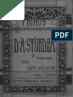 Prinos Lui D. a Sturdza, 1903
