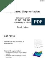 Lecture12 - Graph-based Segmentation