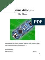 Arduino Nano v3.0 datasheet