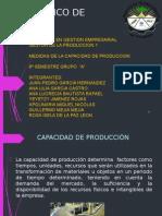 Medidas de Produccion