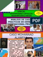Caso Practico Numero Uno 2014 de Derecho Internacional Privado