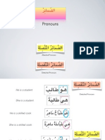 Arabic pronouns - part1- الضَّمَائِرْ
