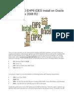 SAP ERP 6 - IDES Installation