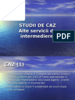 Studii de Caz Nr.7 Alte Servcii Intermediere