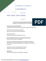 Diccionarios y Glosarios