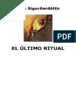 Sigurdardottir, Yrsa - El Último Ritual