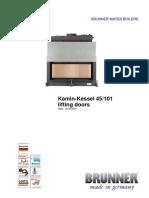Kamin-Kessel 45 101 GB