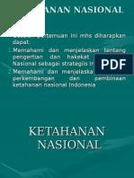 Bab Ix Ketahanan Nasional