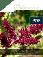 Nutritious Underutilized Species - Amaranth 1682 01