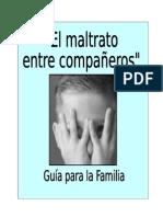 Guia FAMILIAS Bullying