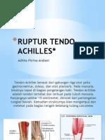 ruptur Achilles