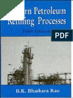 Mordern Petroleum Refining Processes