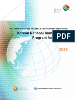 23 Korean National Immunization Program for Children