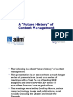 Content Management Future History