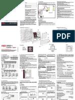 AKO 15742 Manual Instalacion