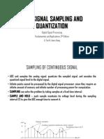 Chapter 2:Signal Sampling and Quantization