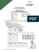 Soal UKK TKR Praktek2014-2015 Over Haul Engine
