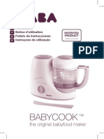 Beaba Babycook Manual User Guide