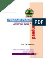 Panduan Fasilitasi Perguruan Disdik Prop 2015