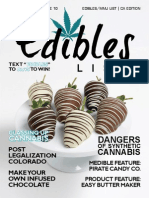 Edibles List Magazine February 2015 - California Edition