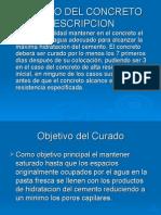 CURADO DE MEZCLA