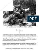 Foundations for a Pro-Male Ethics